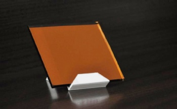 Coated Golden Orange Mirror