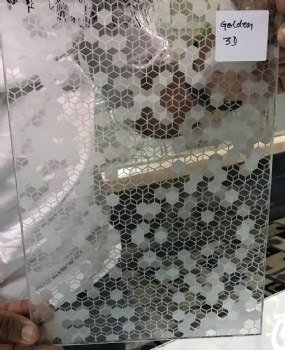 DEEP ACID ETCHED GLASS